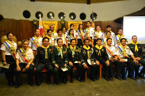 Batch Matapat 2013 (PIA) with guests