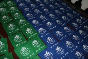 CLAY bags for the materials :) courtesy of Allan Escarez