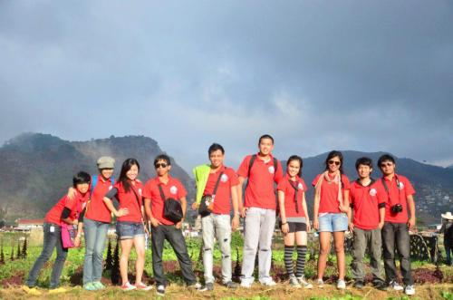STAFF of CLAY at strawberry farm