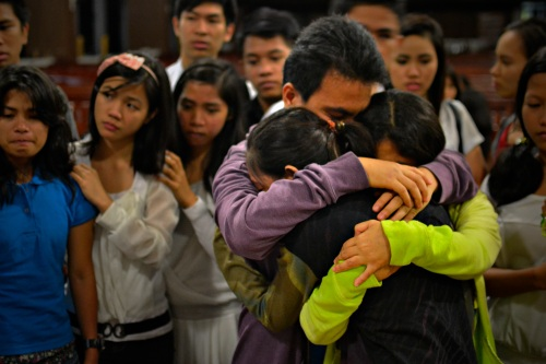hug of comfort (Photo credit: Reü Dawner Flores