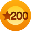 LIKE Trophy *for receiving 200 likes in the posts on 6.27.12