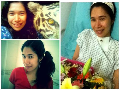 Blooming ate Leah though bed-ridden.  She was able to tame a tiger, and she constantly reminds us that there's a new heaven and earth where we can re-unite again.