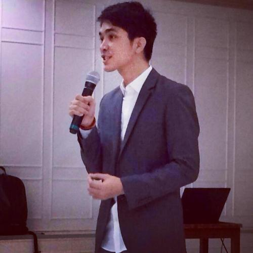 "Josh sharing his childhood story: ""My inspiration was my poverty!"" During his recent speaking appointment at ATENEO DE ZAMBOANGA UNIVERSITY College of Accountancy and Management"