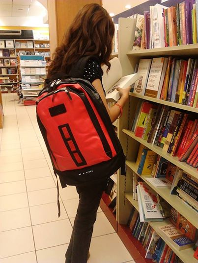 "Proud & happy to have a new companion at work, travel and a during Curly Bookworm ""me time"". As a wordsmith with a mission, Curly Bookworm joins an advocacy of a social entrepreneur of Bag943. In support of the Bag of Dreams Project, this is more than mere purchasing a bag of hope."