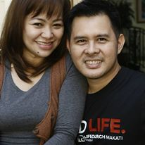 LC Makati Lead Pastor, Arnold and wife Joyce is a family to Josh