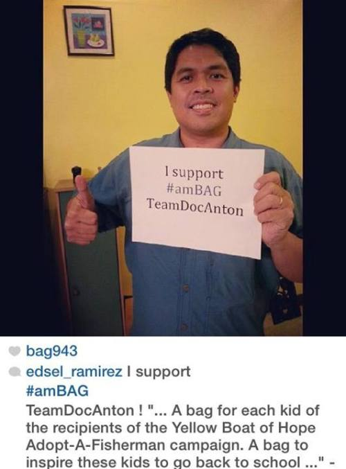 Approved Edsel! Thanks for the support to TeamDocAnton