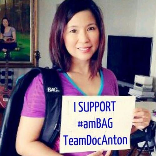 TeamDocAnton growing list if #amBAG superstar supporters! Meet Maricris Wee