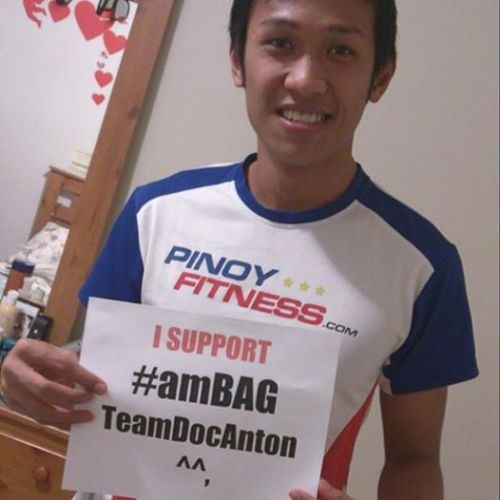 Thank you a Mark Bin Dinangalen for your support to TeamDocAnton