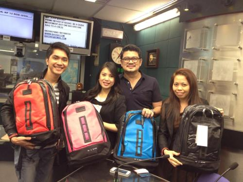 United colors of BAG943. Quality backpacks promoted by generous Magandang Morning hosts and Ms. Mayette Alita