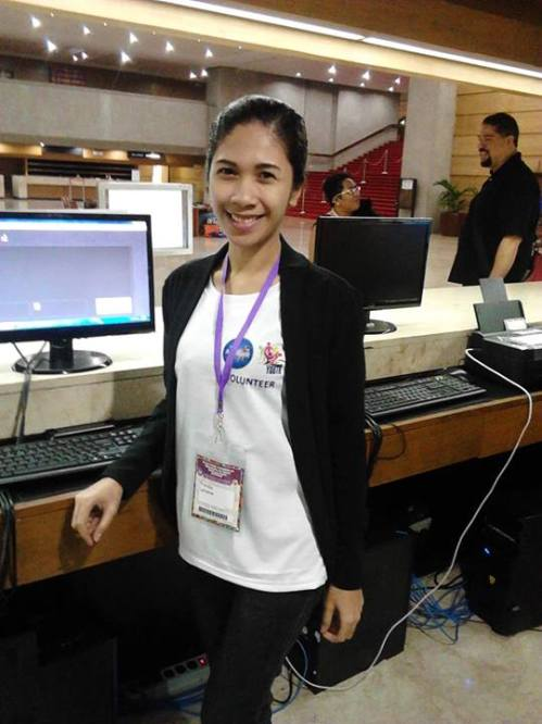 Tired but happy serving as one of the registrars for the registration. I encountered roughly 1,000 people, delegates and participants from countries all over Asia-Pacific Region and beyond.