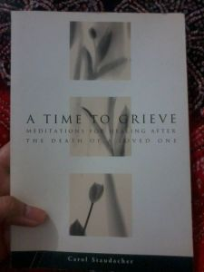 Learning the healthy way to grieve. :)