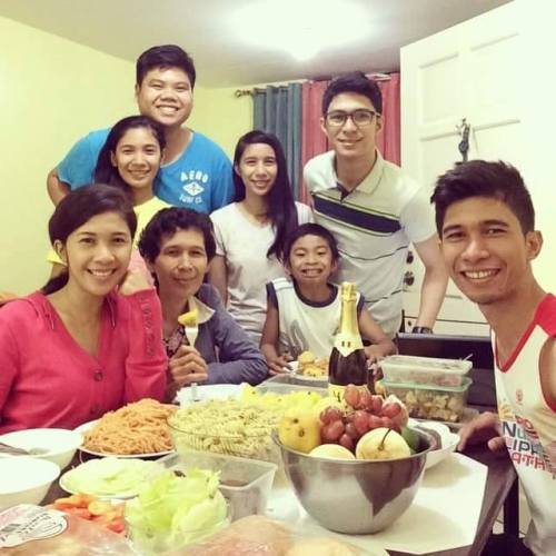 Starting 2015 with family togetherness and thanksgiving for blessings. :)