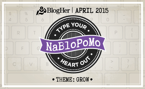 Daily Growth with NaBloPoMo