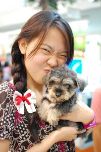 Soya is way beyond cutie. She's a walking, smart stuffed toy.