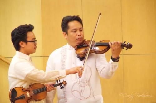 Mark, savoring the moment with Maestro Homer :)
