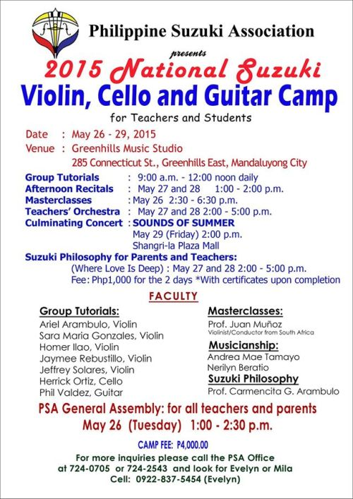 Mirthful and Melodious event to make your May more memorable