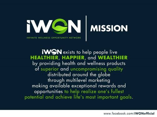 iWON mission